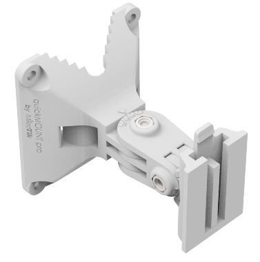 MikroTik quickMOUNT pro Advanced wall mount adapter for small P2P antenna
