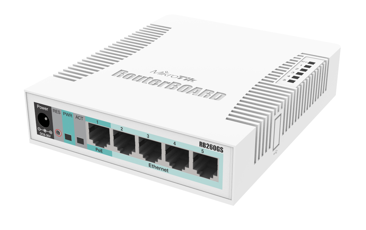MikroTik Routers and Wireless - Products: RB260GS