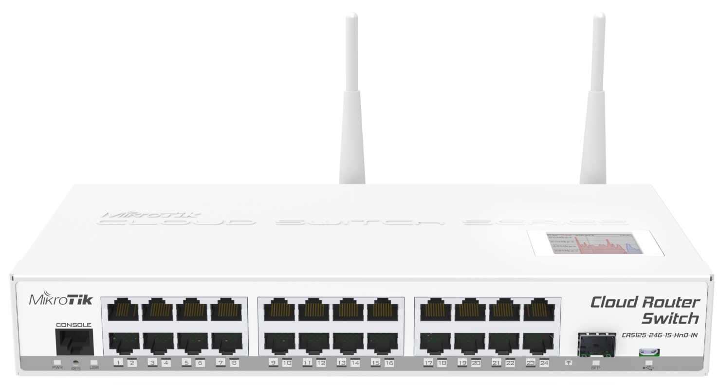 Mikrotik Routers And Wireless Products Crs125 24g 1s