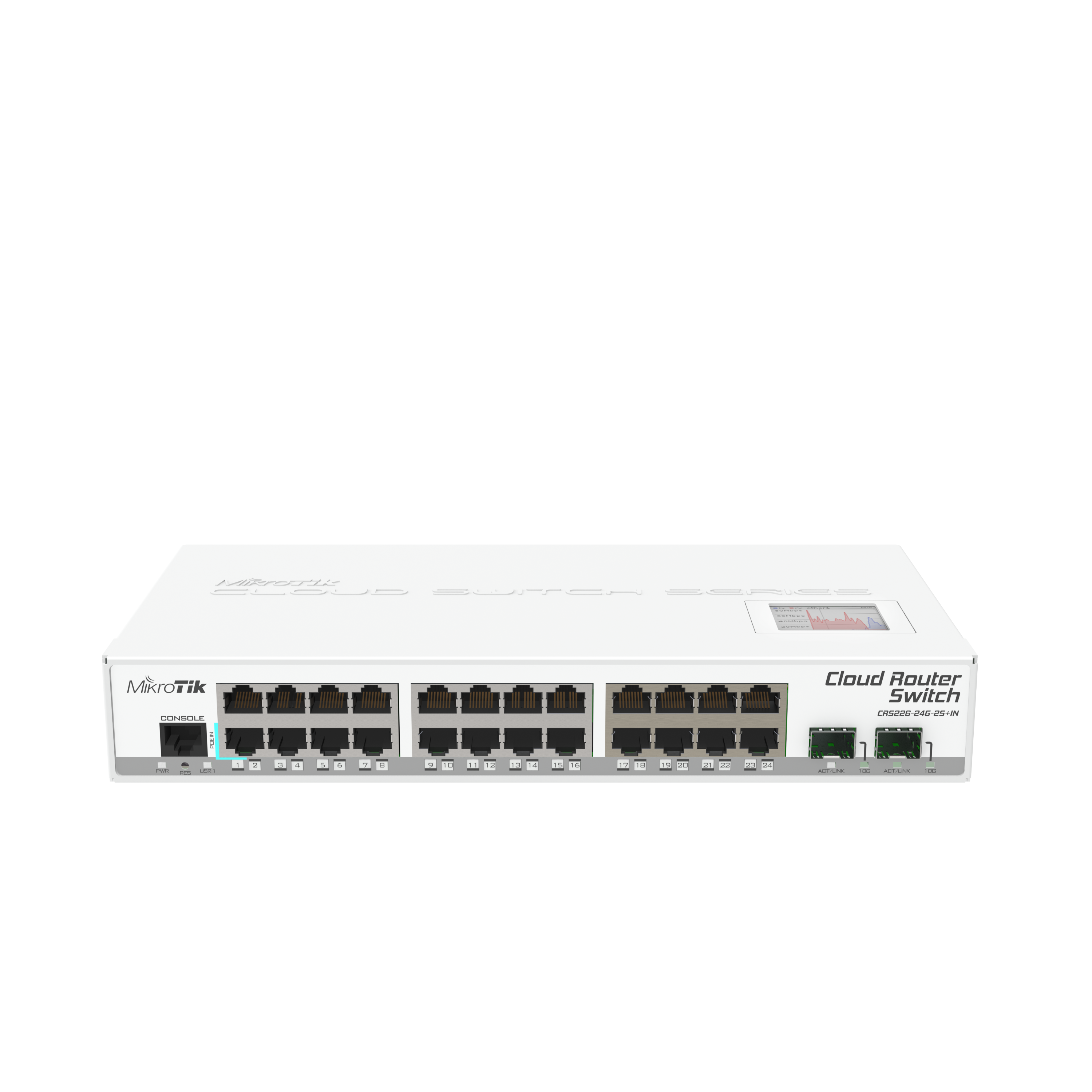 Mikrotik Routers And Wireless Products Crs226 24g 2s In