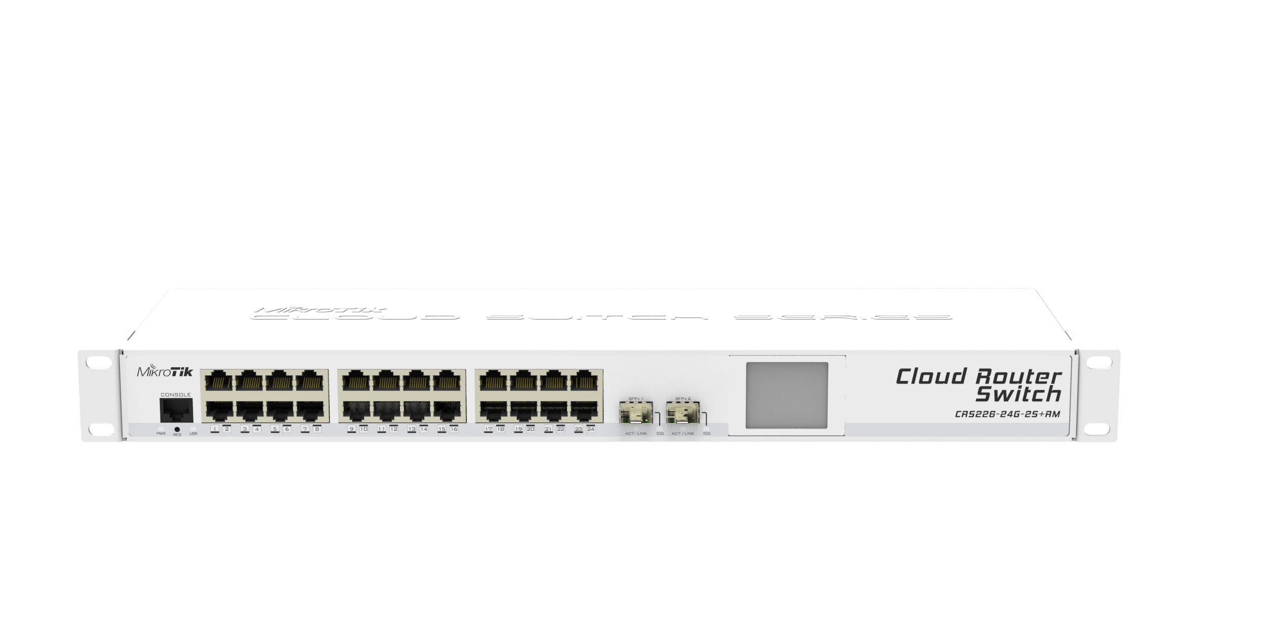 Mikrotik Routers And Wireless Products Crs226 24g 2s Rm